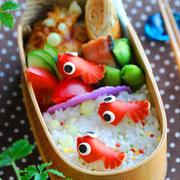 金魚のお弁当