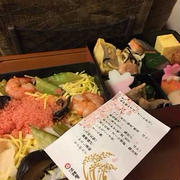新幹線で九州満載弁当。