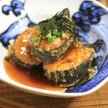 海鮮巻き寿司の天ぷら