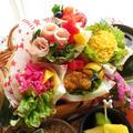 簡単でも華やか☆可愛いブーケ風サンドイッチ☆雛祭り by ルシッカさん