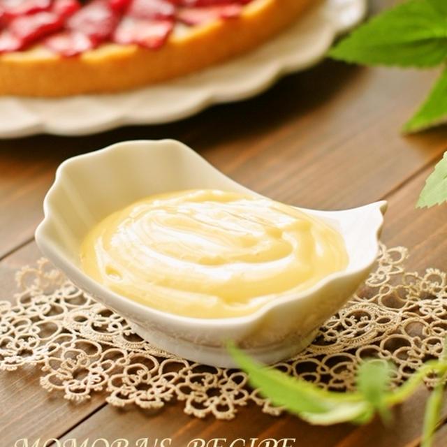 ホットケーキミックスHMと全卵♪レンジで超簡単カスタードクリーム♡バレンタインやホワイトデーのお菓子作りに♡
