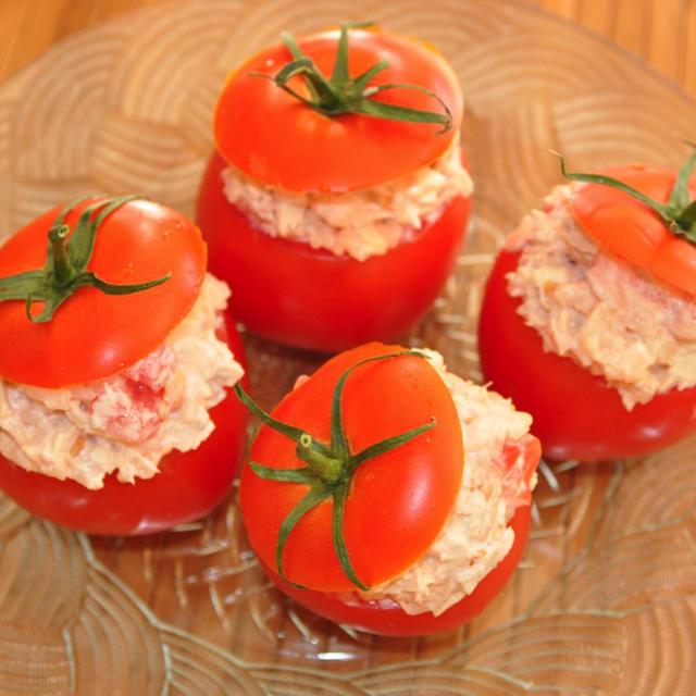 ツナトマトカップ