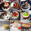 デコレーションケーキいろいろ。クリスマスに。