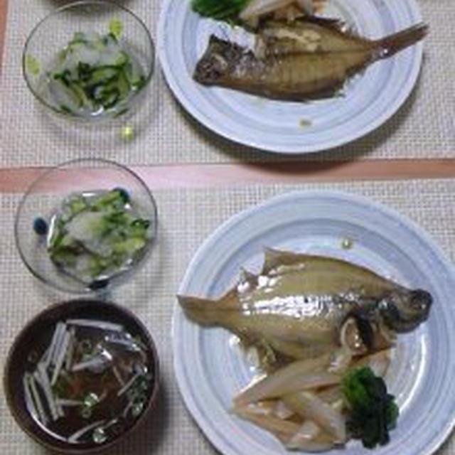 煮魚定食♪