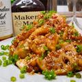 【レシピ】揚げずに簡単♬れんこんと鶏むね肉の油淋鶏♬