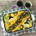 【レシピ】ホットプレートでパリパリ七夕素麺と昨年の我が家の七夕ごはんのレシピとか