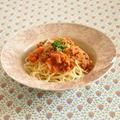 トマトジュースで♡ミートソーススパゲティ