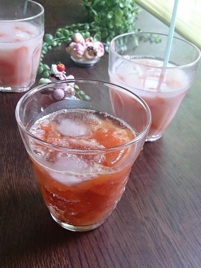 リコピンたっぷり人参の濃いジュース♡ #濃恋野菜 #こいくれない #日本製粉 #人参ジュース