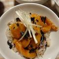 もみじおろしで♪サーモンのさっぱり漬け丼! 鶏と大根の柚子こしょう入り♪すっぱ煮