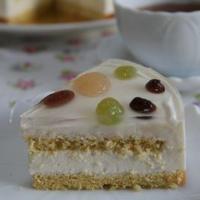 白あんのムースケーキ