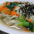 簡単中華風スープごはん