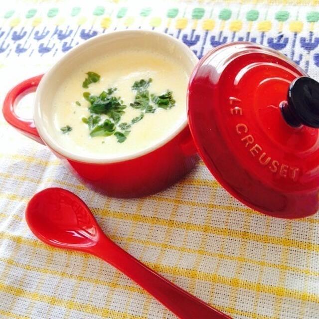 冷製でもホットでも♪濃厚シンプルなコーンスープ
