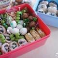 モニプラ 『低GIおいしくごはん』で作るヘルシーピクニック弁当 by geminiさん