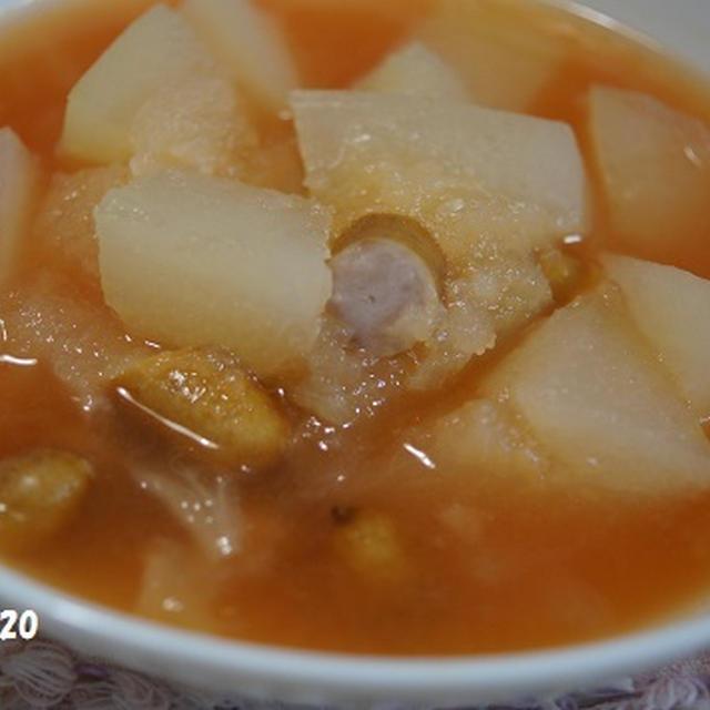 ☆姫冬瓜のトマトスープ☆