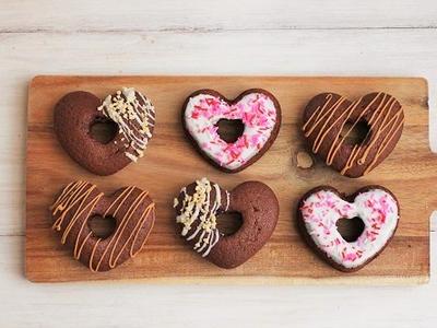 >ホットケーキミックスで簡単♪ハートの焼きドーナツ by 山本リコピンさん