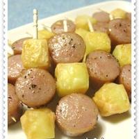 ◆焼けるチーズ&黒胡椒ウインナー♪&◆10.11 くるくるのの字海苔巻ご飯のお弁当(長女)♪ ◇モニター情報/シマダヤの冷凍うどん