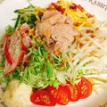 春キャベツの冷やし中華風サラダ