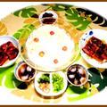 暑い日のスタミナ回復鰻丼にソーメン