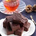 まだ間に合う!型が不要のお豆腐ブラウニーと簡単チョコレートのお菓子