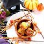 Happy Halloween!! マッシュかぼちゃのちくわコロッケ by 庭乃桃