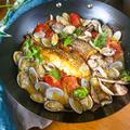 【どうやってもおいしい】鯛のアクアパッツァ