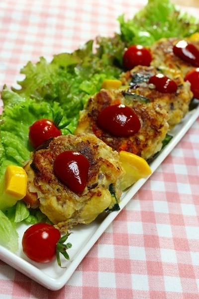 カラフル野菜入り ビタミンバーグ