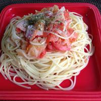 トマトとベーコンのホイルソース