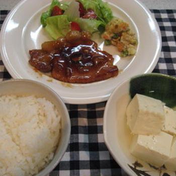 豚ロース熟味酢ソテー