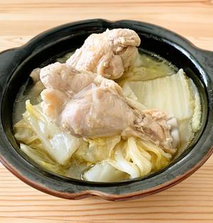 白菜と手羽元のコラーゲンスープ