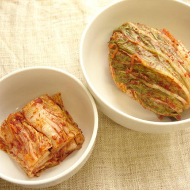 【キムチ教室・韓国料理教室】10月白菜キムチ・韓国のり巻・干しダラのスープ