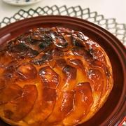 オーブン不要!フライパンで作れるりんごのタルトタタンレシピ