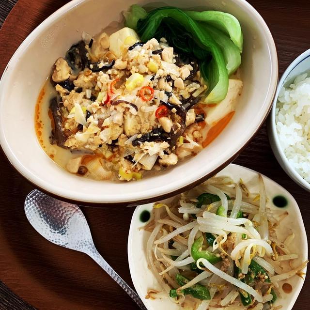 Oisixでヴィーガン『しびれる麻婆豆腐』