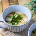 さっぱり♪白菜漬と干しシイタケのスープ