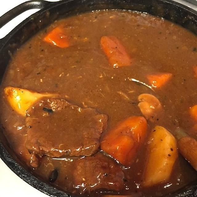 牛スネ肉カレー