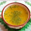 玉ねぎの鶏がらスープ