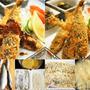 ■晩ご飯セット【鮎フライ】お向かいさんの釣り果(相模川の鮎を頂きました^^)