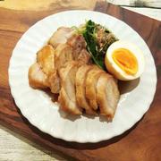 レンジ加熱6分半で美味しい煮豚