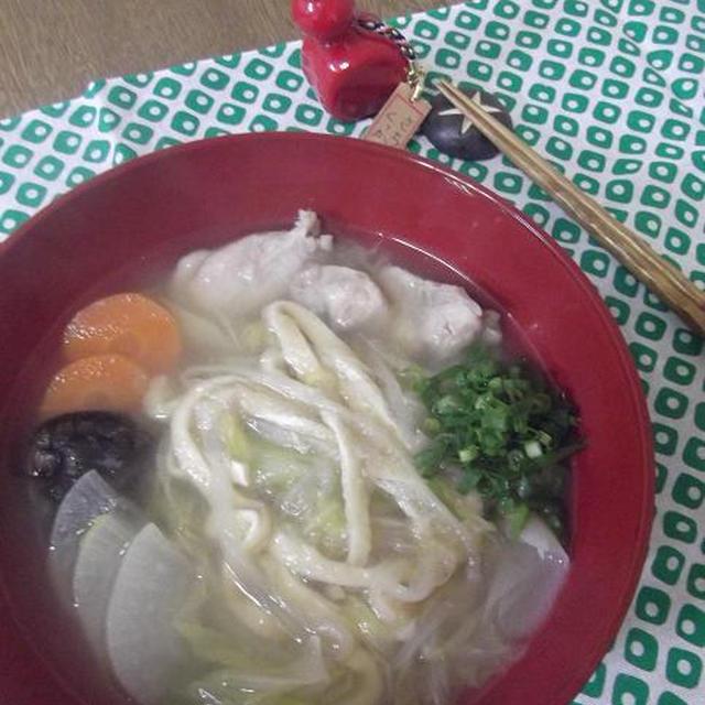 白菜麺&薄揚げ麺