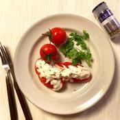 クミンの香り♪夏のトマトサラダ