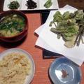 山菜料理 by masaさん