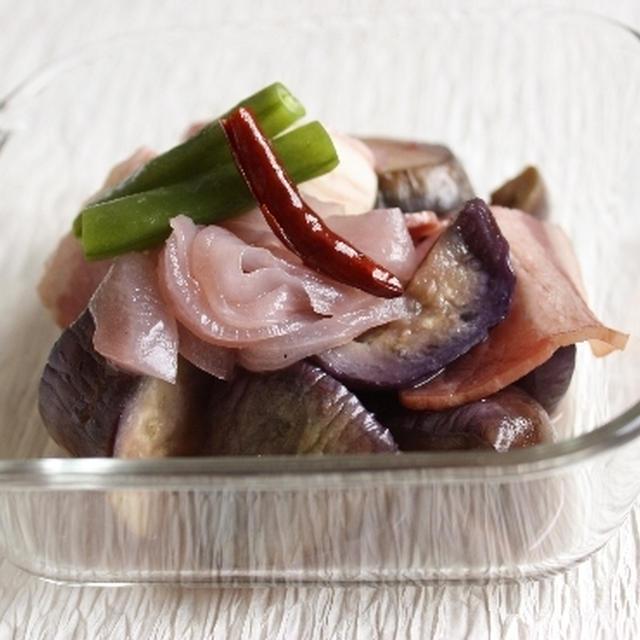揚げ茄子のワイン煮と、必要なモノについて考える。