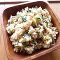 春菊とスパイスのエスニック炒飯