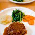 お豆腐と切り干し大根の煮込みハンバーグ by sachiさん