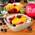 ♡レンジ調理で超簡単♡南瓜と林檎のマリアージュ♡【時短お菓子】 by Mizukiさん