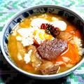 カルビスープ雑炊