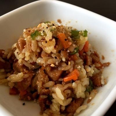 フライパン1つで簡単カレー炒飯@GABANガラムマサラ,