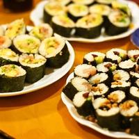 ひなまつりに♪巻き寿司パーティー