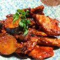 豚ヒレ肉とズッキーニの塩麹トマトにこみ by SHIMAさん