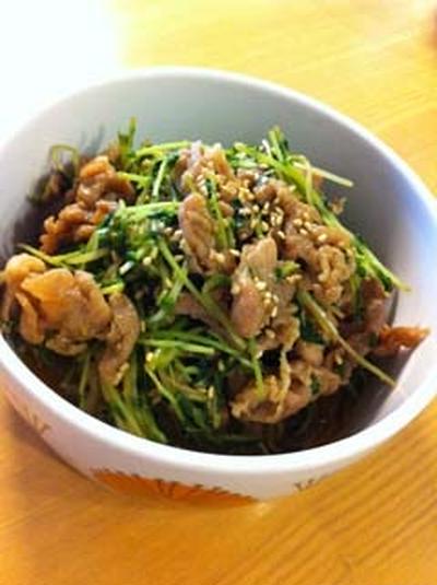 栄養豊富な緑色葉物野菜
