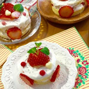 苺サンドケーキ
